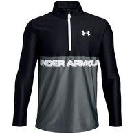 Under Armour Boys' UA Tech 1/2 Zip Long-Sleeve Shirt