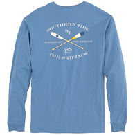 Southern Tide Men's Oars Long-Sleeve Shirt