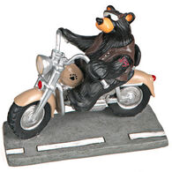 Big Sky Carvers Harley Biker Bear Figurine