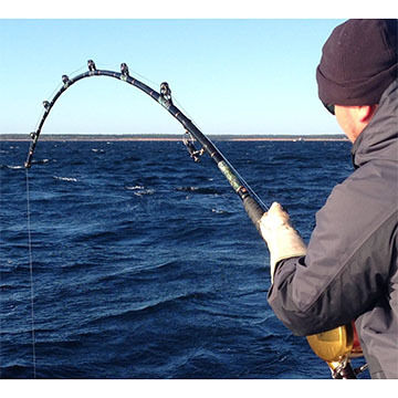 Reel Easy 80/130 Trident Giant Bluefin Tuna Rod