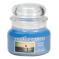 Village Candle Small Apothecary Glass Jar Candle - Summer Breeze