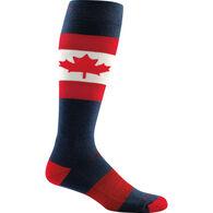 Darn Tough Vermont Men's O Canada Over-the-Calf Light Cushion Ski/Ride Sock