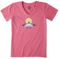 Life is Good Women's Vista Hike Crusher Short-Sleeve T-Shirt