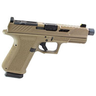 "Shadow Systems MR920 Elite FDE Threaded Black Barrel 9mm 4.5"" 15-Round Pistol w/ 2 Magazines"