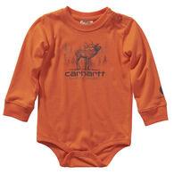 Carhartt Infant Boy's Printed Long-Sleeve Bodysuit Onesie