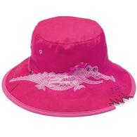 Wallaroo Toddler Girl's Crocodile Sun Hat