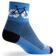 SockGuy Men's ReCycle Bicycling Sock