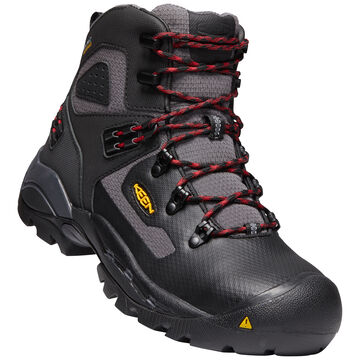 Keen Mens St. Paul 6 Waterproof Carbon-Fiber Toe Work Boot