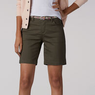 Lee Jeans Women's Modern Series Total Freedom Bradbury Belted Walkshort