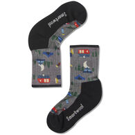 SmartWool Youth Hike Light Summer Nights Print Crew Sock