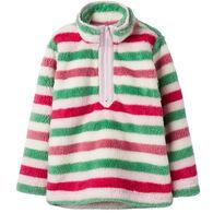Joules Girl's Merridie Half-Zip Fleece Pullover