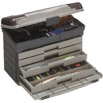 Plano Guide Series 757 Four Drawer Tackle Box