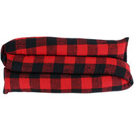 Maine Balsam Fir Buffalo Plaid Red/Black Draft Stopper