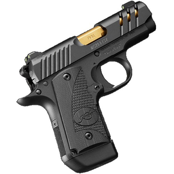 "Kimber Micro 9 ESV (Black) 9mm 3.15"" 7-Round Pistol"
