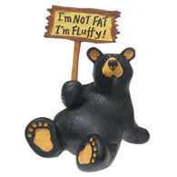 Big Sky Carvers I'm Fluffy Bear Figurine