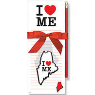 Cape Shore I Love Maine Magnetic Pad Gift Set