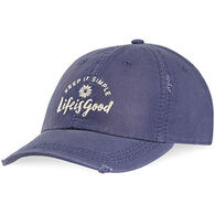 Life is Good Women's Keep It Simple Daisy Sunwashed Chill Cap