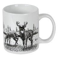Carville's Deer Tracks Ceramic Mug