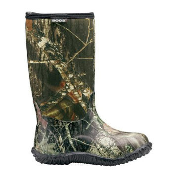Bogs Boys & Girls Classic High Camo Waterproof Rubber Boot