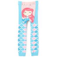 Doodle Pants Toddler Girls' Mermaid Legging