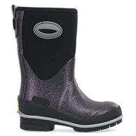 Western Chief Girls' Glitter Glam Neoprene Rain Boot