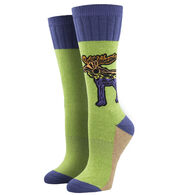 Socksmith Design Women's Atomic Child Let The Moose Loose Crew Sock