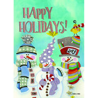 LPG Greetings 3 Snow Guys Boxed Christmas Cards