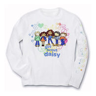 Girl Scouts Official Daisy Long-Sleeve Tee - Discontinued Model