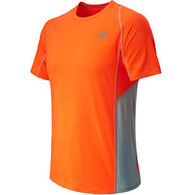 New Balance Men's Accelerate Short-Sleeve Shirt