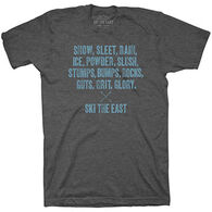 Ski The East Men's Dedicated Short-Sleeve T-Shirt