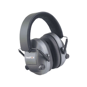 Champion Electronic Ear Muff Hearing Protector