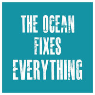 Sticker Cabana Ocean Fixes Everything Sticker