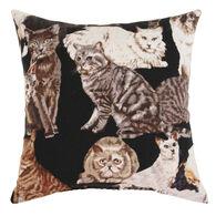 """Moosehead Balsam Fir 5"""" x 5"""" Large Cats Balsam Pillow"""