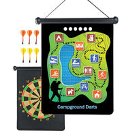 Outside Inside Backpack Magnetic Camp Darts Game