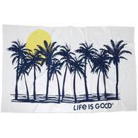 Life is Good Palms Beach Towel