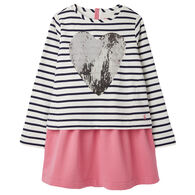 Joules Girl's Lucy Mock Layer Dress