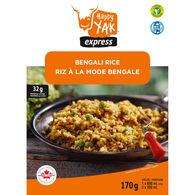 Happy Yak Vegan Lactose-Free Bengali Rice - 1 Serving