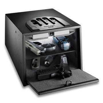 GunVault MultiVault GVB 2000 Biometric Handgun Safe