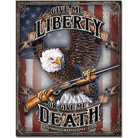Desperate Enterprises Give Me Liberty Tin Sign