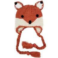 Huggalugs Infant/Toddler Girl's Fox Earflap Beanie Hat