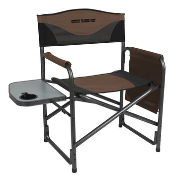 Portal Aluminum Director S Chair W Side Table Kittery Trading