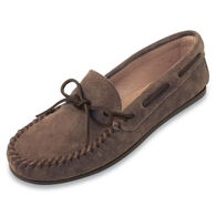 Minnetonka Men's Leather-Lined Classic Moccasin