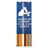 "Hornady American Gunner 12 GA Reduced Recoil 2-3/4"" 00 Buckshot Ammo (10)"
