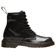Dr. Martens AirWair Junior Girls' 1460 Black Coated Glitter Boot