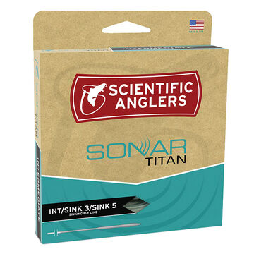 Scientific Anglers Sonar Titan Int. / Sink 3 / Sink 5 WF Fly Line