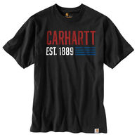 Carhartt Men's Relaxed Fit Midweight Short-Sleeve Graphic T-Shirt