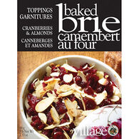 Gourmet Du Village Brie Topping - Cranberry & Almond