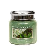 Village Candle Petite Glass Jar Candle - Eucalyptus Mint
