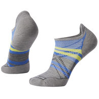 SmartWool Men's PhD Run Light Elite Print Micro Sock - Special Purchase