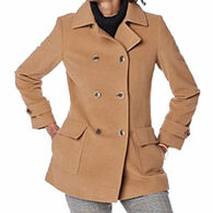 Pendleton Woolen Mills Women's Double-Breasted Wool Coat